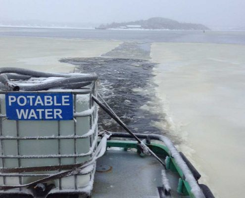 marine services potable water