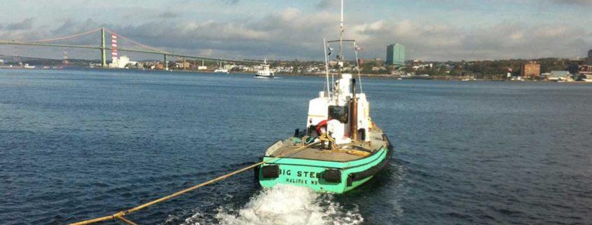 Tug Big Steel in Halifax Harbour