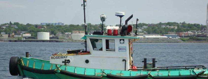 Tug Roseway in Halifax Harbour