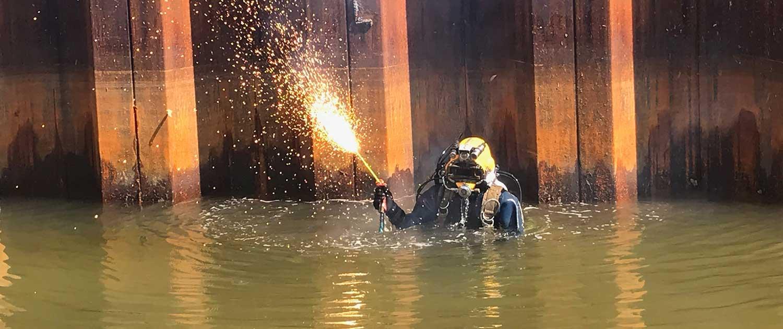underwater contruction