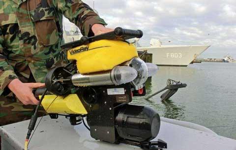 ROV navy bottom survey